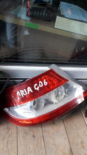 Стоп-сигнал Honda Fit Aria GD6 задний левый (б/у)