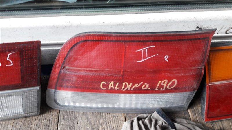 Стоп-вставка Toyota Caldina CT190 2000 задняя правая (б/у)