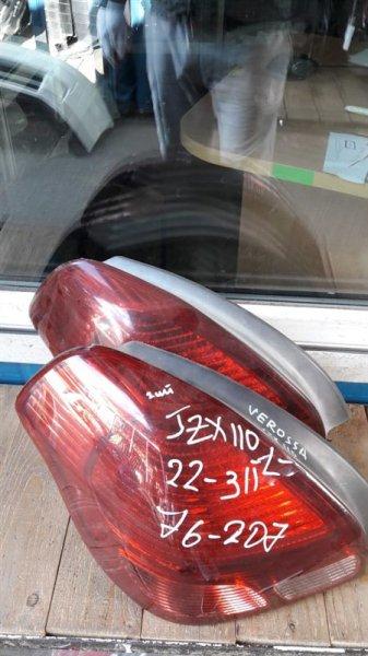 Стоп-сигнал Toyota Verossa 110 задний левый (б/у)