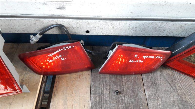 Стоп-сигнал Toyota Premio 240 задний левый (б/у)