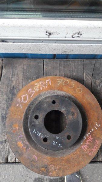 Тормозной диск Nissan X-Trail DNT31 2007 передний (б/у)