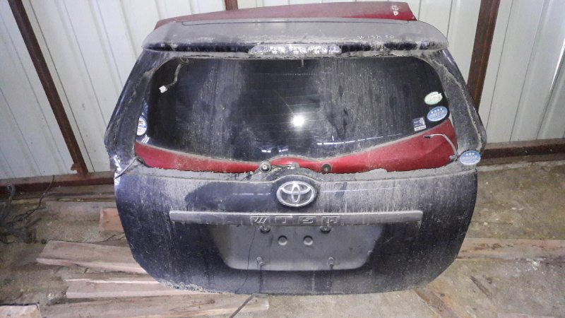 Дверь багажника Toyota Wish ZNE14G задняя (б/у)
