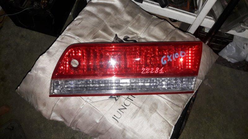 Стоп-вставка Toyota Mark Ii GX100 1999 задняя правая (б/у)