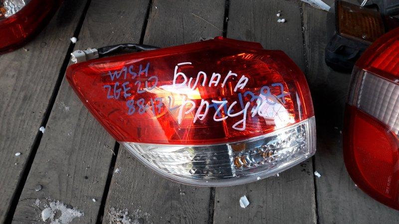 Стоп-сигнал Toyota Wish ZGE22W ZGE20G задний левый (б/у)