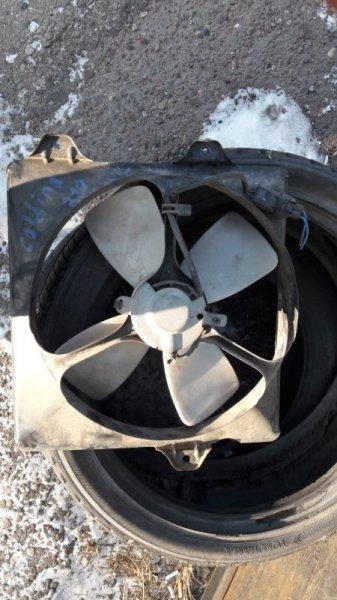 Вентилятор в диффузор Toyota Caldina AT210 1998 передний (б/у)