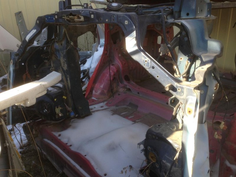 Передняя часть автомобиля Honda Cr-V RD1 (б/у)