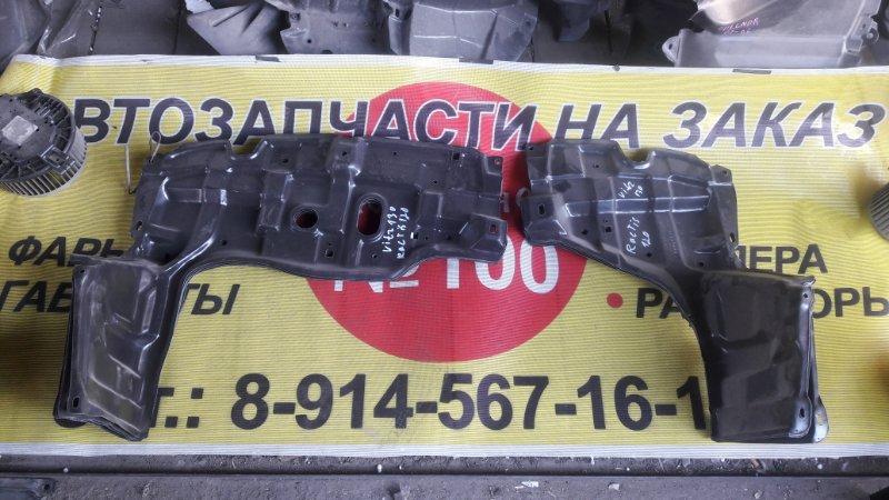 Защита двс Toyota Vitz KSP130 передняя (б/у)