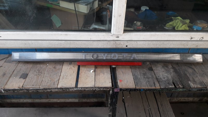Накладка на дверь Toyota Master Ase Surf 30 1988 задняя (б/у)