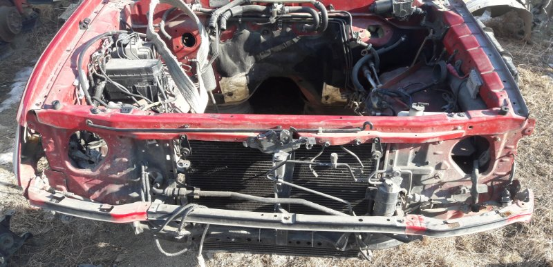 Передняя часть автомобиля Toyota Land Cruiser Prado 90 KZJ 1996 (б/у)