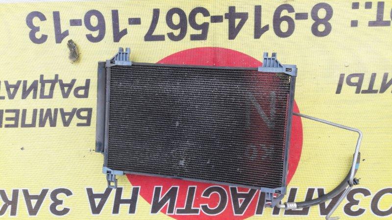 Радиатор-кондиционера Toyota Vitz NCP95 2NZ-FE 2006 передняя (б/у)