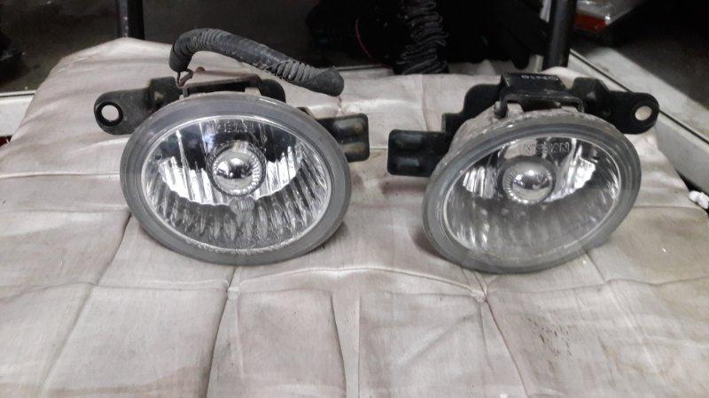 Противотуманная фара Nissan-L Murano 2001 передняя (б/у)