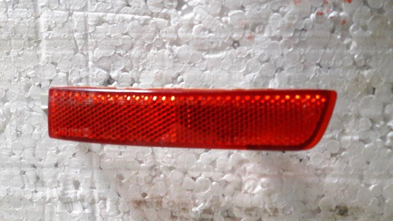 Катафот бампера Nissan Juke ALE50 задний правый (б/у)