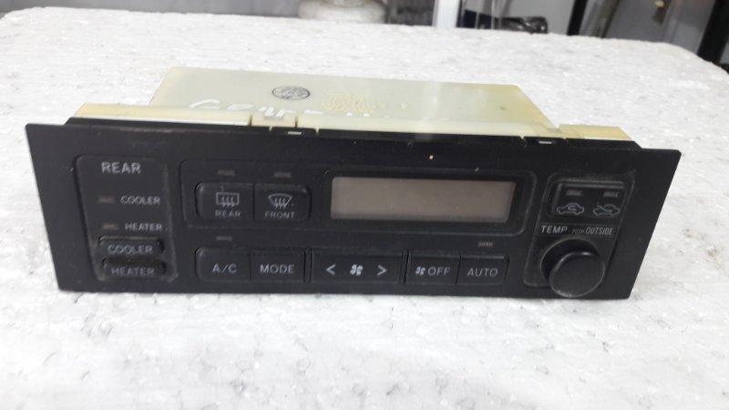 Блок управления климат-контролем Toyota Grand Hiace KCH10W 1999 передний (б/у)