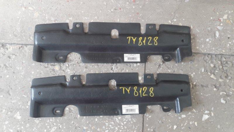 Защита под передний бампер Toyota Probox NCP50 2002 передняя