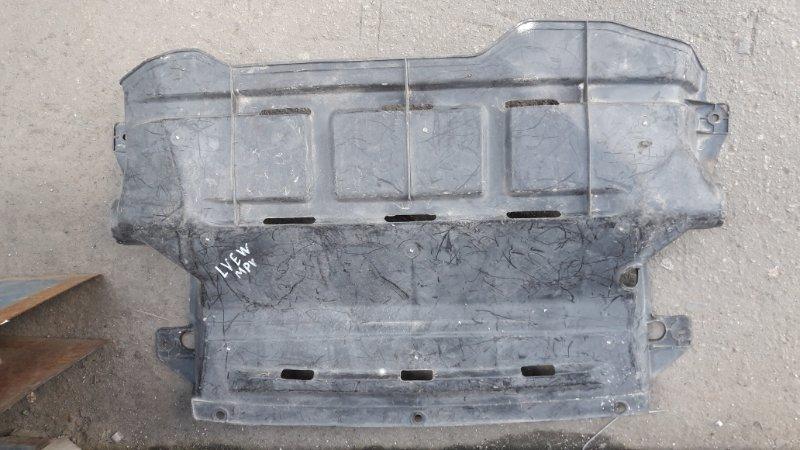 Защита двс Mazda Mpv LVLR 1998 передняя (б/у)