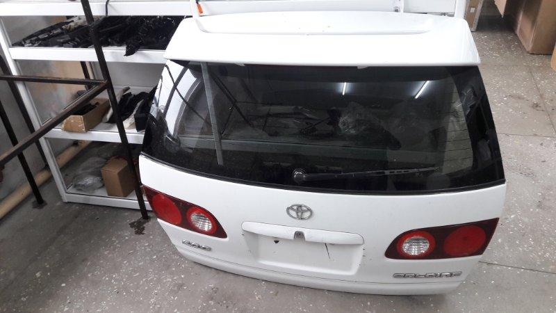 Дверь багажника Toyota Caldina AT210 1997 задняя (б/у)