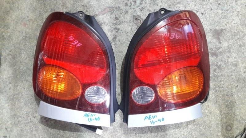 Стоп-сигнал Toyota Corolla Spacio AE110 1997 задний (б/у)