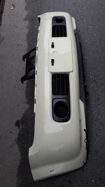 Бампер Nissan Cube BNZ11 2001 передний (б/у)
