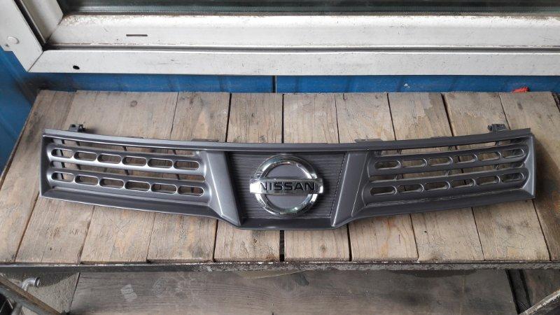Решетка радиатора Nissan Wingroad Y12 2009 передняя (б/у)