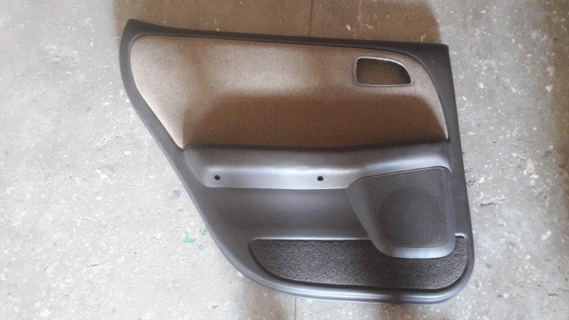 Обшивка боковой двери Toyota Cresta GX90 1992 задняя левая (б/у)