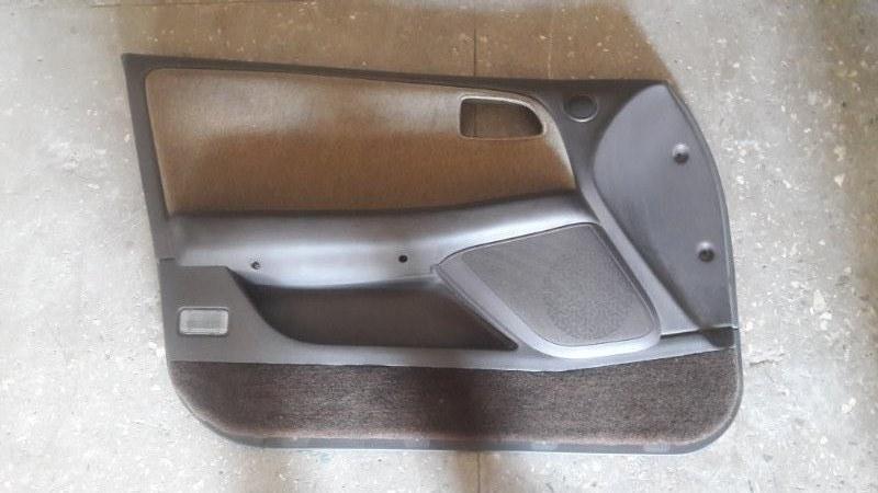 Обшивка боковой двери Toyota Cresta GX90 1992 передняя левая (б/у)