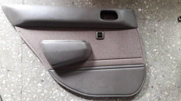 Обшивка боковой двери Toyota Corolla AE110 1996 задняя левая (б/у)