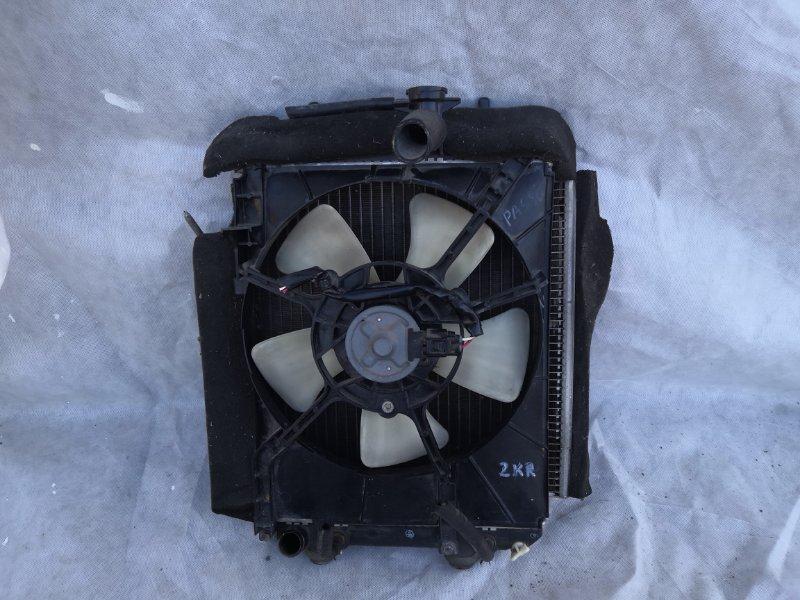 Радиатор двс Toyota Passo XC10 2004 (б/у)