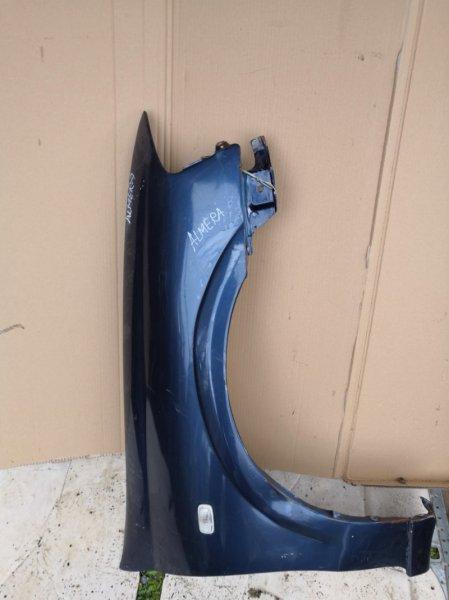Крыло Nissan Bluebird Sylphy QG10 2000 переднее правое (б/у)