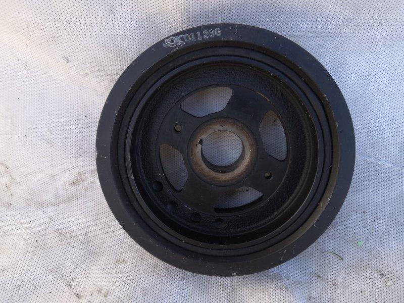 Шкив коленвала Nissan Bluebird EU14 SR18 1998 (б/у)