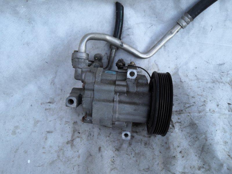 Компрессор кондиционера Nissan Ad Y11 QG15 2000 (б/у)