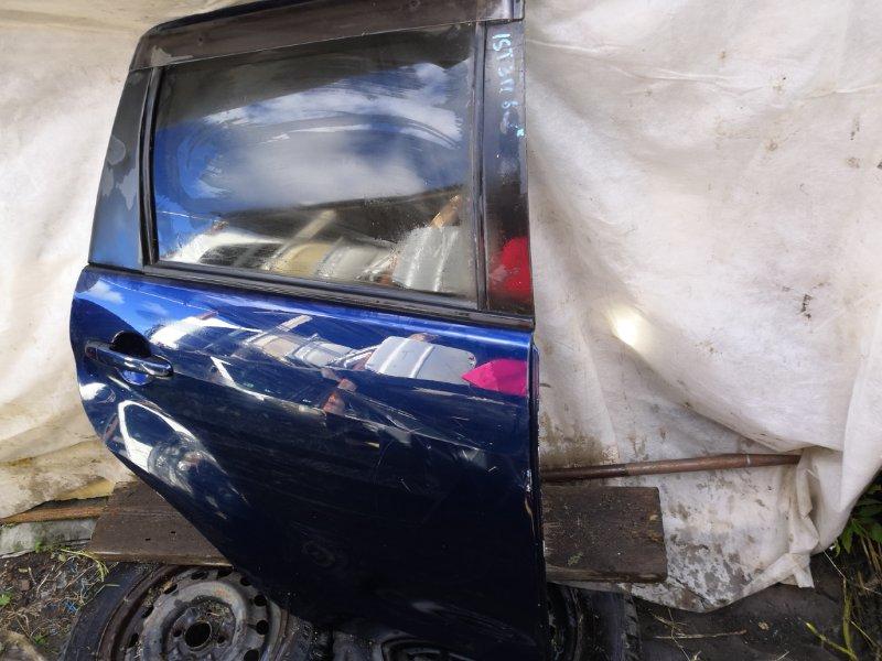 Дверь Toyota Ist XP60 2002 задняя правая (б/у)