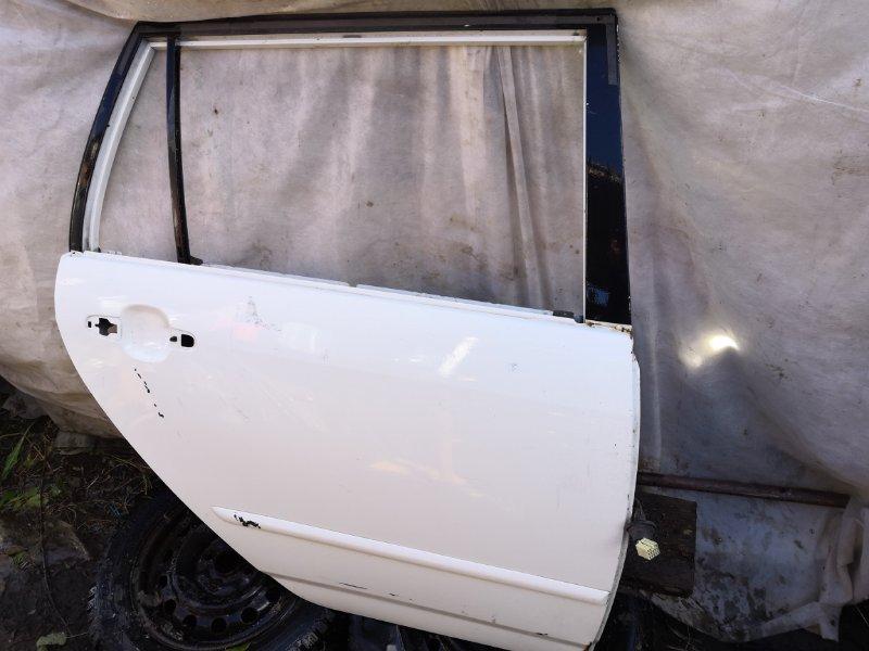 Дверь Toyota Corolla Fielder NZE121 2000 задняя правая (б/у)