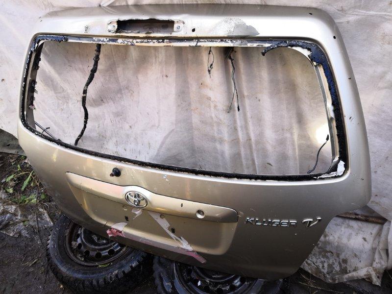 Дверь багажника Toyota Kluger ACU20W 2000 (б/у)