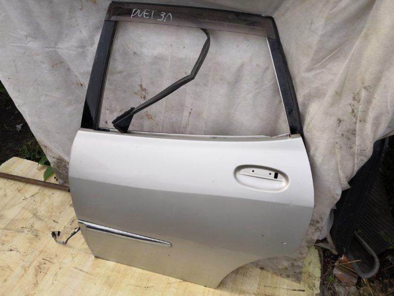 Дверь Toyota Duet M110 1998 задняя левая (б/у)
