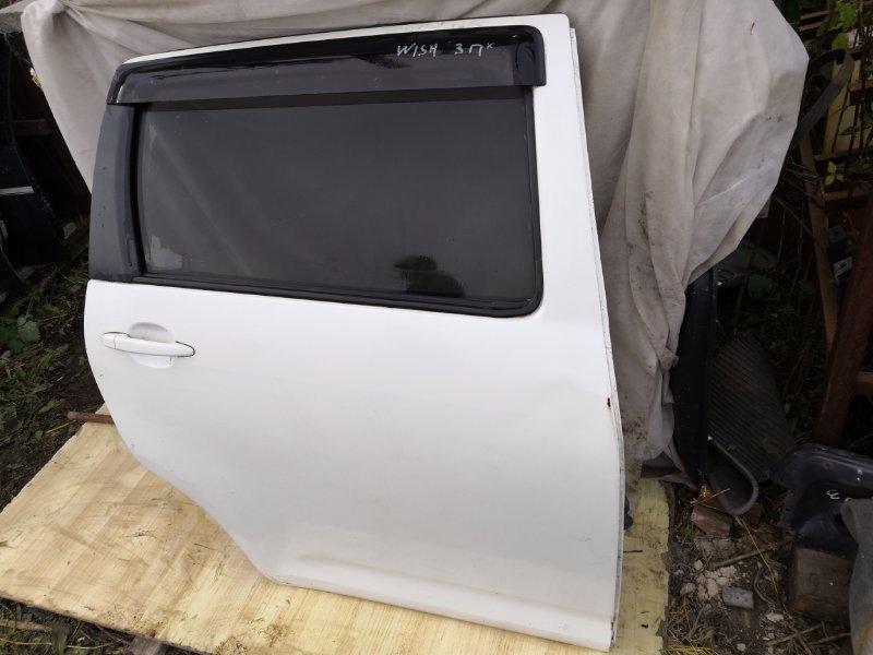 Дверь Toyota Wish ANE10G 2003 задняя правая (б/у)
