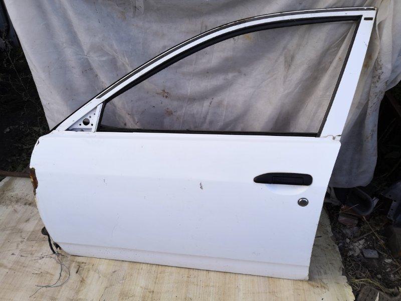 Дверь Nissan Wingroad Y11 1999 передняя левая (б/у)