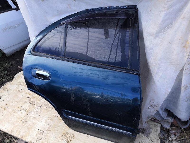 Дверь Nissan Bluebird Sylphy QG10 2000 задняя правая (б/у)