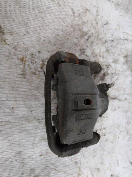 Суппорт Toyota Raum Z10 5E FE 1997 передний правый (б/у)
