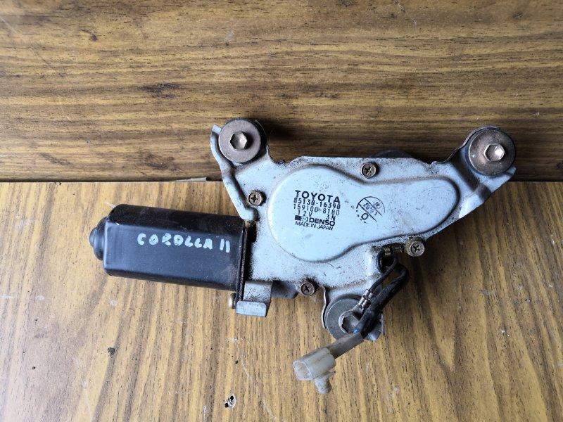 Моторчик дворника Toyota Corolla Ii EL41 1990 задний (б/у)