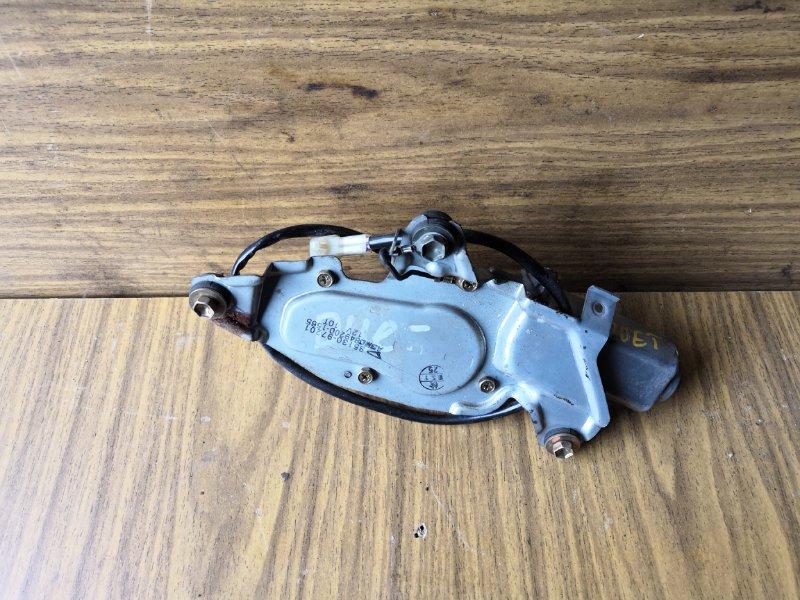 Моторчик дворника Toyota Duet M110 1998 задний (б/у)