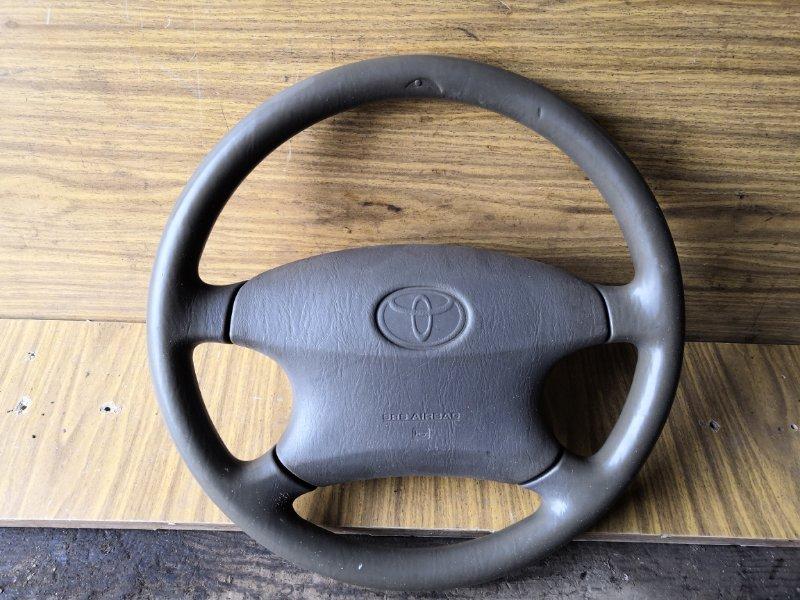 Руль Toyota Corolla NZE 121 2000 (б/у)