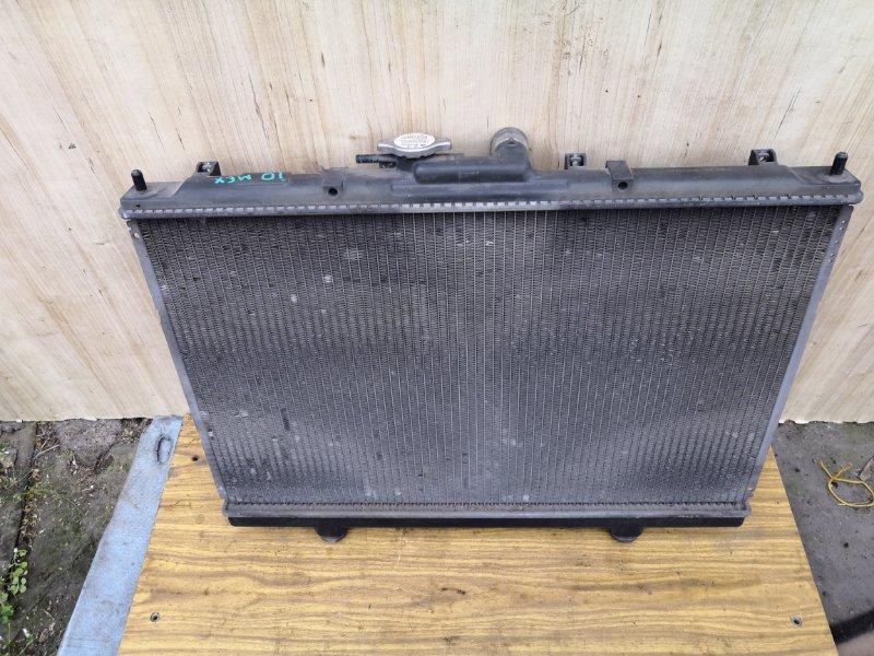 Радиатор двс Mitsubishi Pejero Pinin H71W 1999 (б/у)