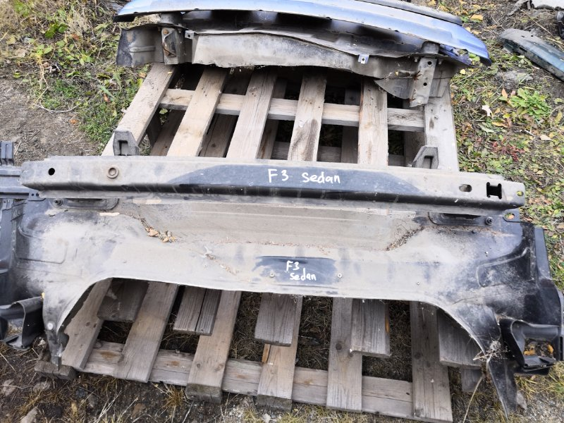 Усилитель бампера Ford Focus 3 CB8 2010 задний (б/у)