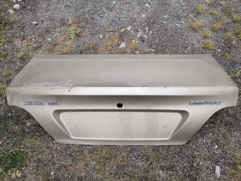 Крышка багажника Daewoo Nexia N150 2008 (б/у)