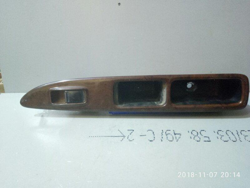 Кнопка стеклоподъемника Nissan Presage U30 1998 задняя левая (б/у)