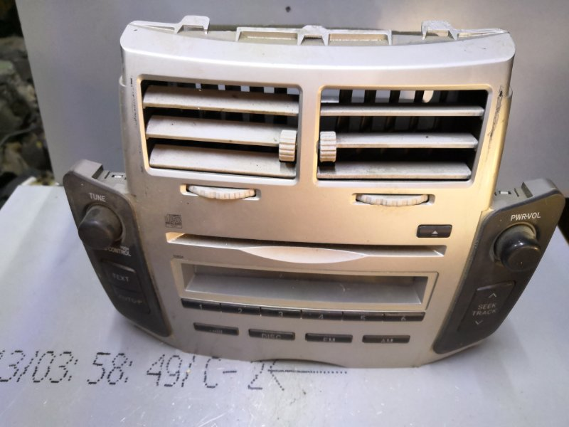 Магнитофон Toyota Vitz KSP90 2005 (б/у)