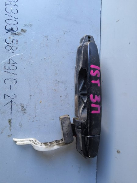 Ручка двери внешняя Toyota Ist XP60 2002 задняя левая (б/у)
