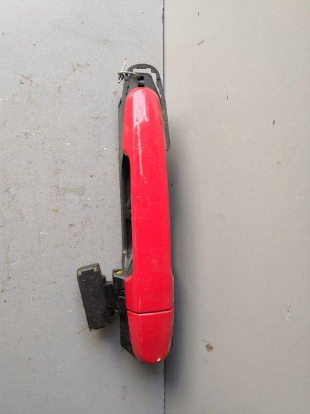 Ручка двери внешняя Toyota Ist XP60 2002 задняя правая (б/у)