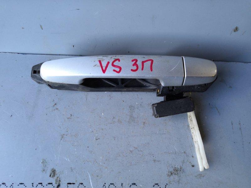 Ручка двери внешняя Toyota Will Vs NZE127 2001 задняя правая (б/у)