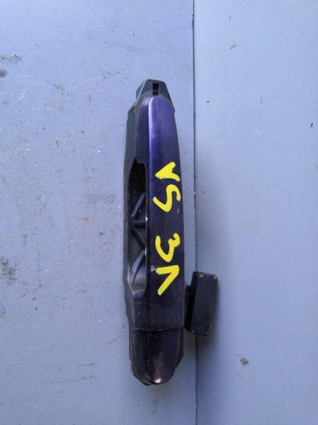 Ручка двери внешняя Toyota Will Vs NZE127 2001 задняя левая (б/у)